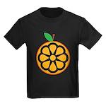 Orange Kids Dark T-Shirt