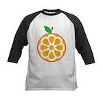 Orange Kids Baseball Jersey