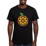 Orange Men's Fitted T-Shirt (dark)