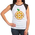 Orange Women's Cap Sleeve T-Shirt