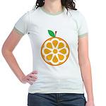 Orange Jr. Ringer T-Shirt