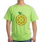 Orange Green T-Shirt