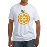 Orange Fitted T-Shirt