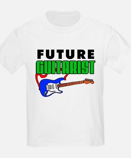 Future Guitarist Blue Guitar T-Shirt