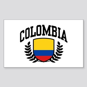 Colombia Sticker (Rectangle)