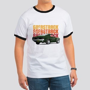 68 Fastback Distress Ringer T