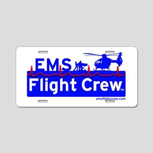 EMS Flight Crew - (new design front & back) Alumin