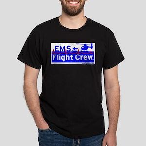 EMS Flight Crew - (new design front & back) Dark T