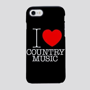 I Heart Country Music iPhone 7 Tough Case