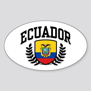 Ecuador Sticker (Oval)