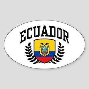 Ecuador Sticker (Oval)