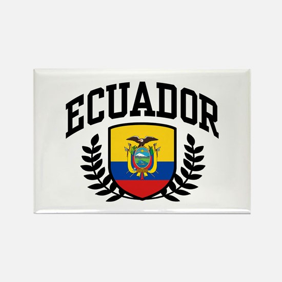 Ecuador Rectangle Magnet