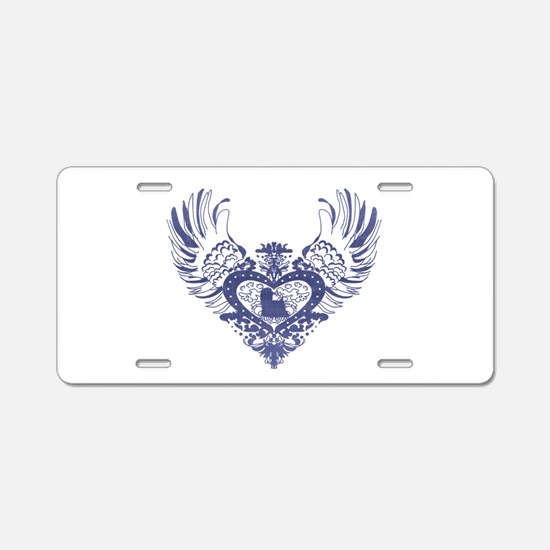 Yorkshire Terrier Aluminum License Plate