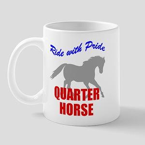 Ride With Pride Quarter Horse Mug
