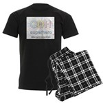 CDH Superhero Men's Dark Pajamas