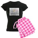 CDH Superhero Women's Dark Pajamas