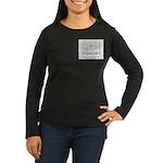 CDH Superhero Women's Long Sleeve Dark T-Shirt
