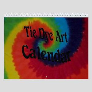 Tie Dye Art Wall Calendar