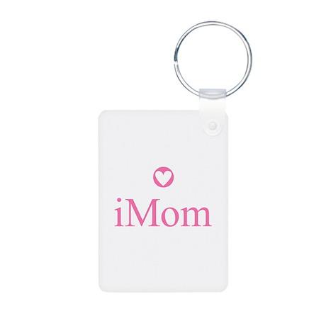 iMom (iMac) Aluminum Photo Keychain