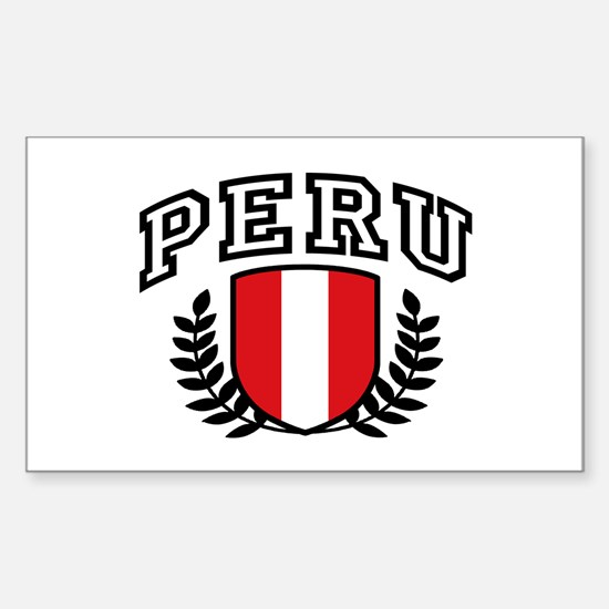 Peru Sticker (Rectangle)