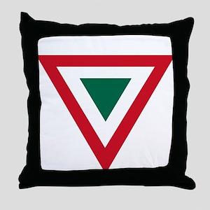 Mexico Roundel Throw Pillow