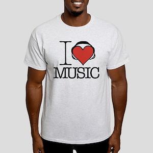 I Heart Music Light T-Shirt