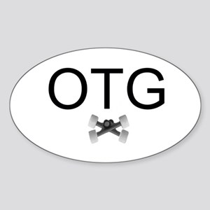 On The Grind Sticker (Oval 10 pk)