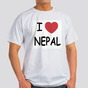 I heart Nepal Light T-Shirt