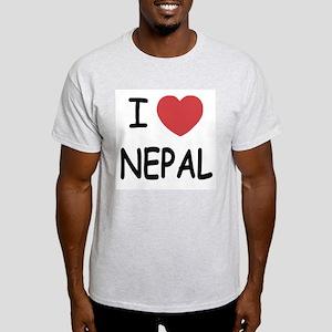 I heart Nepal Light T-Shirt