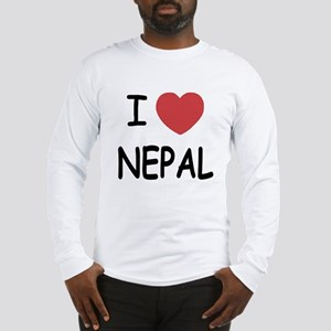 I heart Nepal Long Sleeve T-Shirt