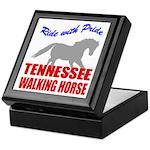 Pride Tennessee Walking Horse Keepsake Box