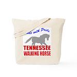 Pride Tennessee Walking Horse Tote Bag