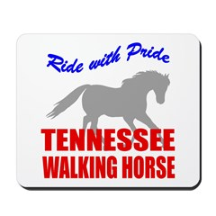 Pride Tennessee Walking Horse Mousepad