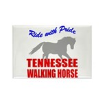 Pride Tennessee Walking Horse Rectangle Magnet