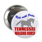 Pride Tennessee Walking Horse Button