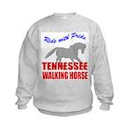 Pride Tennessee Walking Horse Kids Sweatshirt