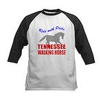 Pride Tennessee Walking Horse Kids Baseball Jersey