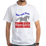 Pride Tennessee Walking Horse White T-Shirt