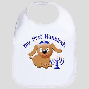 baby's first Hanukah Bib