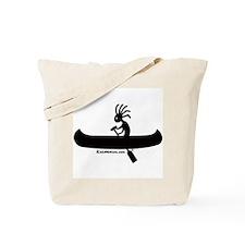 Kokopelli Canoeist Tote Bag