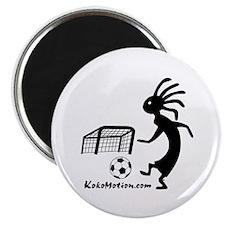 """Kokopelli Soccer Player 2.25"""" Magnet (10 pack"""
