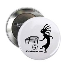 "Kokopelli Soccer Player 2.25"" Button"