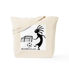 Kokopelli Soccer Player Tote Bag