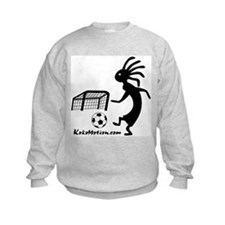 Kokopelli Soccer Player Kids Sweatshirt