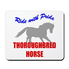 Pride Thoroughbred Horse Mousepad