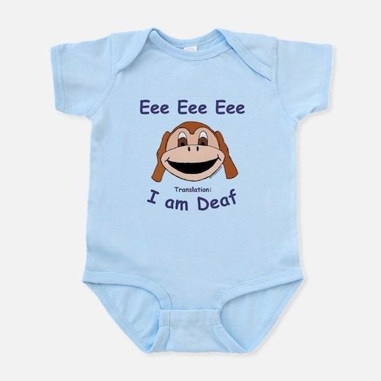 """""""Eee Eee Eee"""" Infant Bodysuit"""