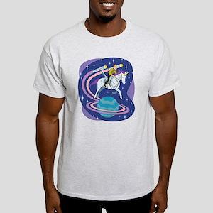 Star Trek Unicorn Enterprise Light T-Shirt