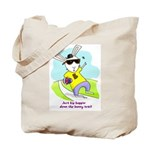 Hip Easter Bunny Tote Bag