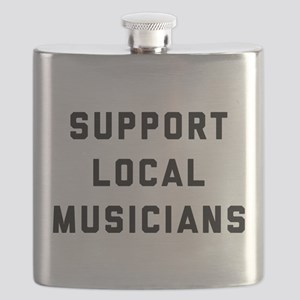Support Local Musicians Flask