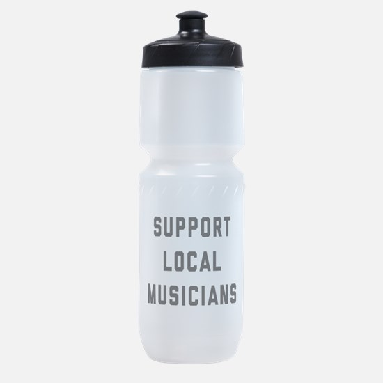 Support Local Musicians Sports Bottle